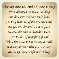 Grieving Our Pets  Part 2 of 2